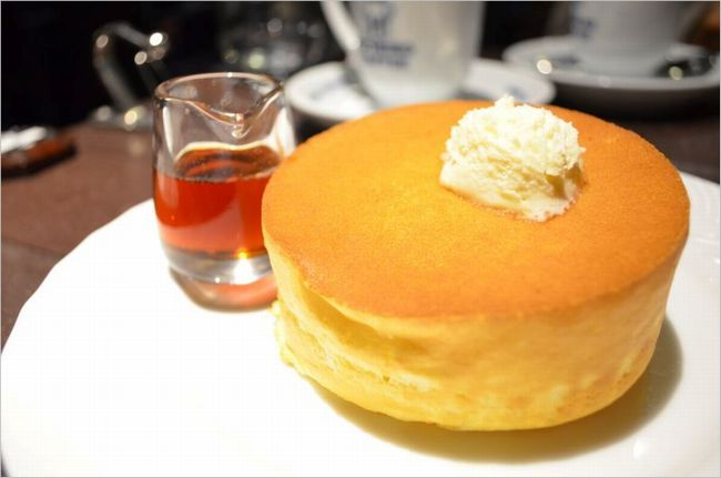 星乃珈琲のパンケーキ