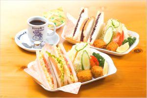 サンドイッチの種類